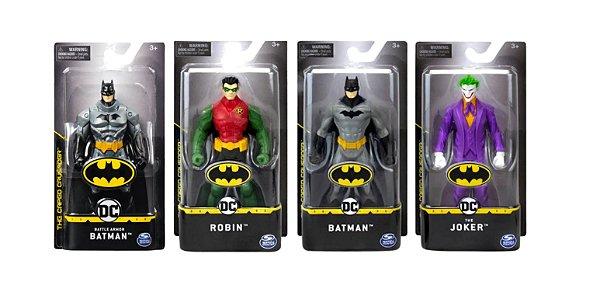Pack Com 4 Bonecos Dc Comics Batman