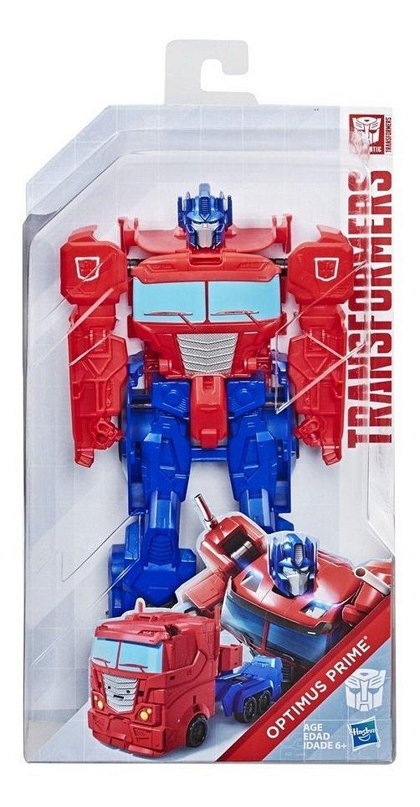 Figura Transformers Authentics Titan Changer - Optimus Prime