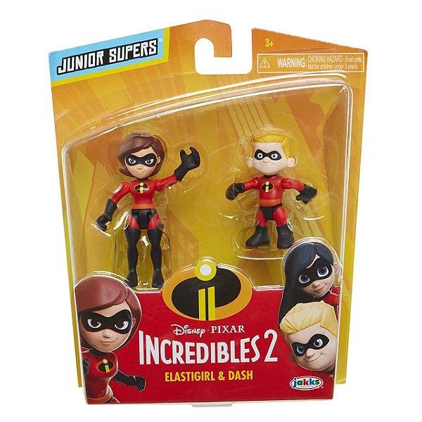 """Os Incríveis 2 - Minifiguras de 3"""" Sra Incrível e Flecha"""