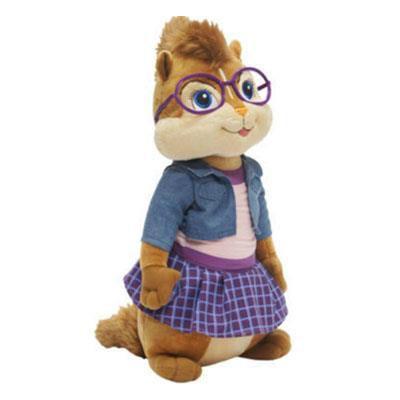 Pelucia Alvin E Os Esquilos 3 - Jeanette M