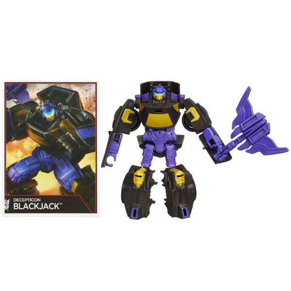 Boneco Transformers Generation Legends - Blackjack - Hasbro