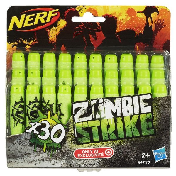 Refil Nerf Zombie Strike - 30 Dardos - Hasbro