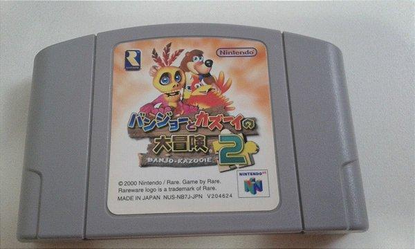 Game Para Nintendo 64 - Banjo Kazooie 2 NTSC-J