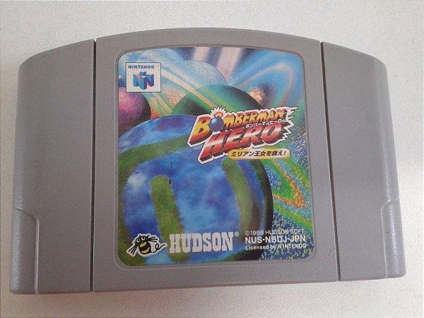 Game Para Nintendo 64 - Bomberman Hero NTSC-J