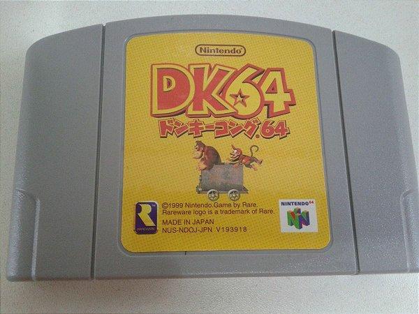 Game Para Nintendo 64 - Donkey Kong 64 NTSC-J