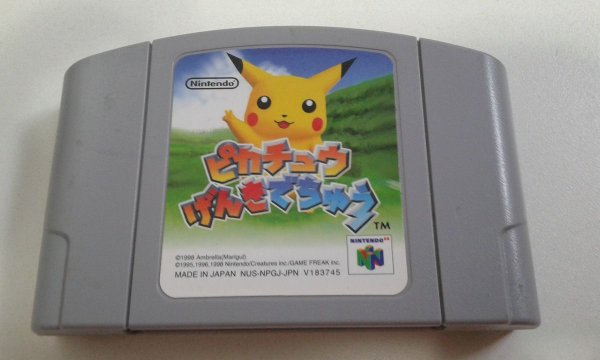 Game Para Nintendo 64 - Hey You, Pikachu! NTSC-J