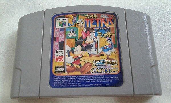 Game Para Nintendo 64 - Magical Tetris Challenge NTSC-J