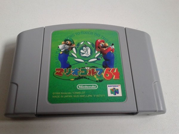 Game Para Nintendo 64 - Mario Golf NTSC-J