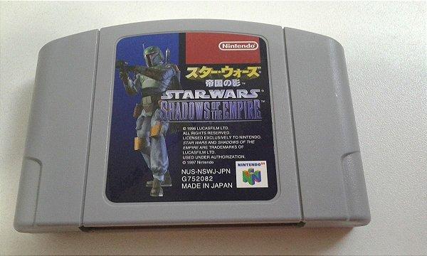 Game Para Nintendo 64 - Star Wars Shadows Of The Empire NTSC-J