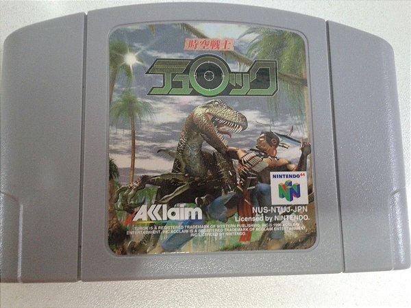 Game Para Nintendo 64 - Turok NTSC-J