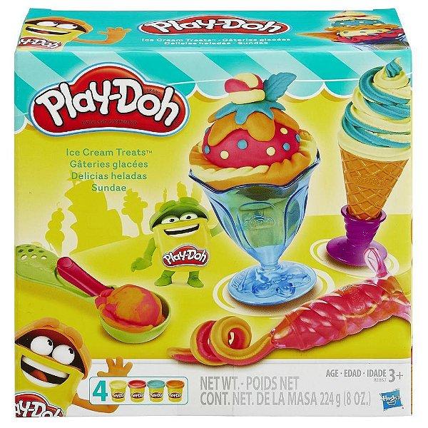 Massinha Play Doh Sorvetes Deliciosos  Hasbro