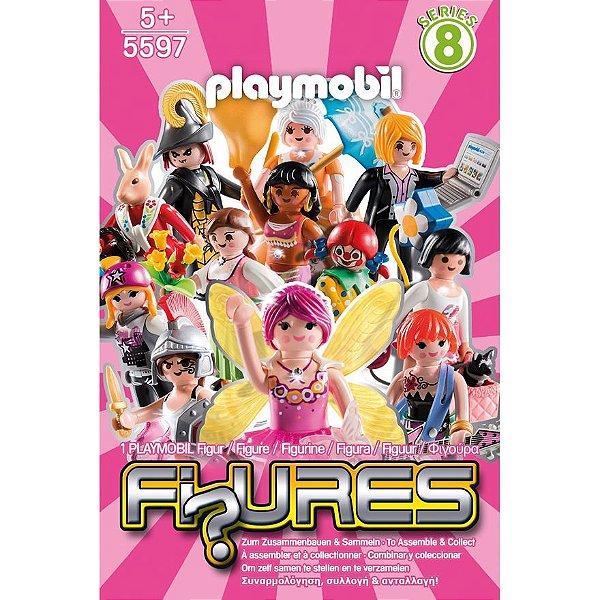 Playmobil 5597 - Figuras Surpresas Serie 8 Feminino Completo