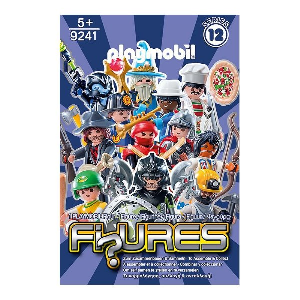 Playmobil 9241 - Figuras Surpresas Serie 12 Masculino Completo