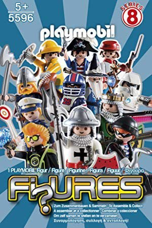 Playmobil 5596 - Figuras Surpresas Serie 8 Masculino Completo
