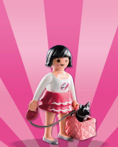 Playmobil 5597 - Figuras Surpresas Serie 8 Feminino #5