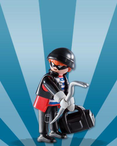 Playmobil 5596 - Figuras Surpresas Serie 8 Masculino #10