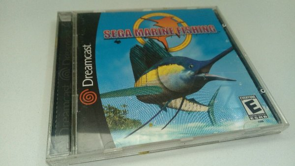 Game Para Sega Dreamcast - Sega Marine Fishing NTSC-US