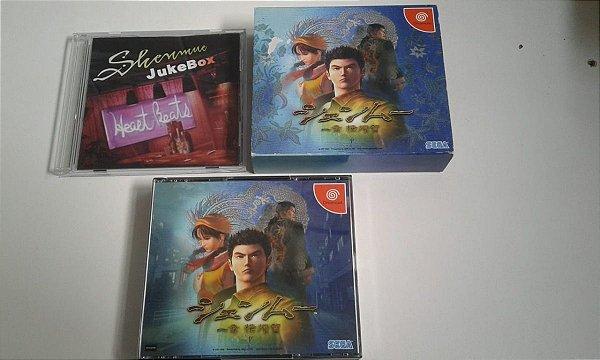Game Para Sega Dreamcast - Shenmue Edição Limitada 5 Cds NTSC-J