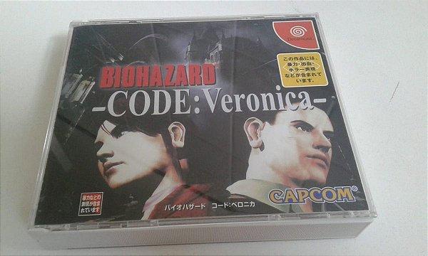 Game Para Sega Dreamcast - Biohazard Resident Evil Code Verônica 2cds NTSC-J