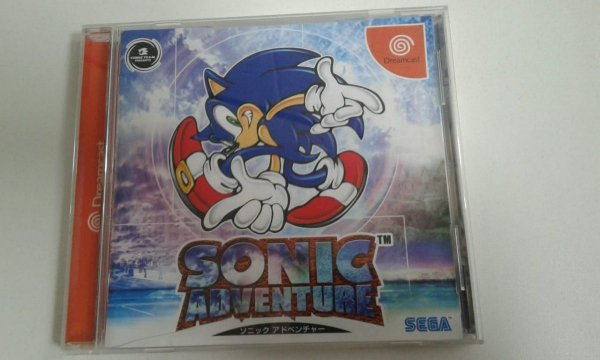Game Para Sega Dreamcast - Sonic Adventure NTSC-J