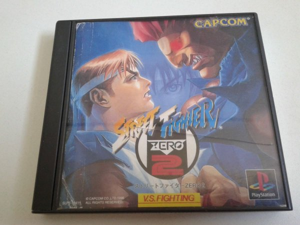 Game Para PS1 - Street Fighter Zero 2 NTSC-J