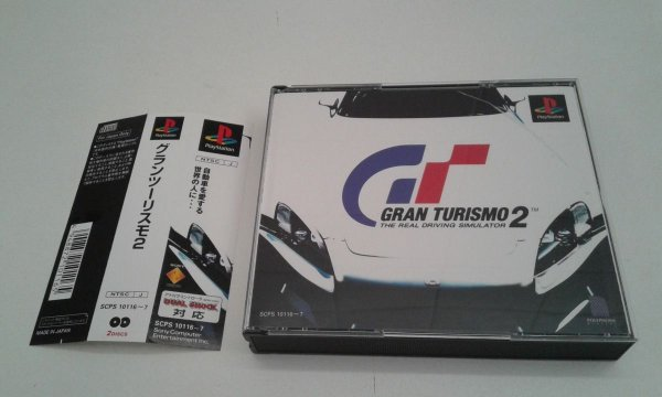 Game Para PS1 - Gran Turismo 2 c/ Spine Card NTSC-J
