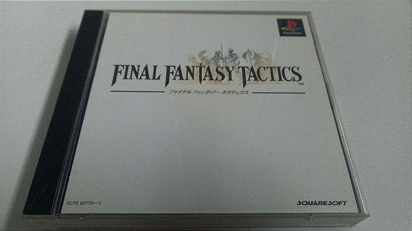 Game Para PS1 - Final Fantasy Tactics NTSC-J