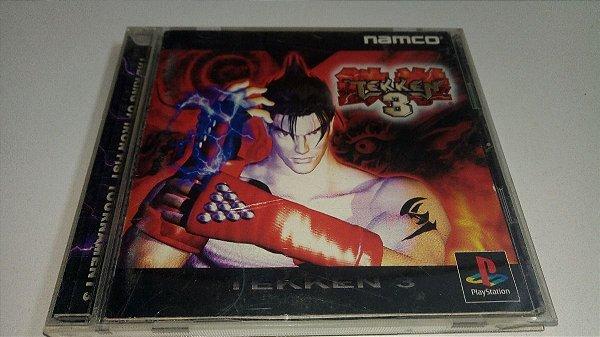 Game Para PS1 - Tekken 3 NTSC-J