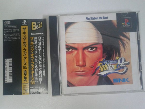 Game Para PS1 - The King Of Fighters '95 c/ Spine Card NTSC-J
