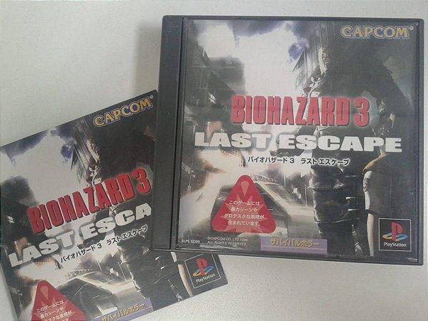 Game Para PS1 - Biohazard Resident Evil 3: Nemesis NTSC-J