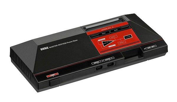 Console Sega Master System C/ 2 Controles, Pistola E 3 Jogos
