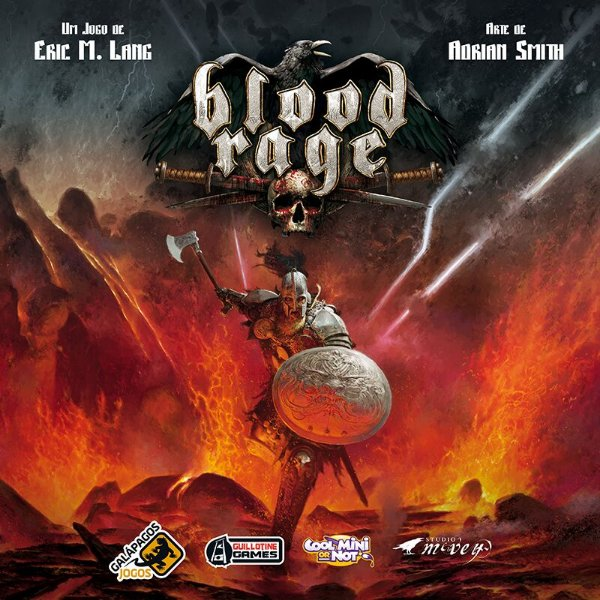 Jogo Blood Rage