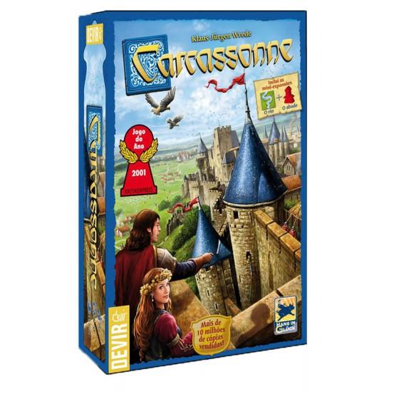 Jogo Carcassonne 2ª Edição