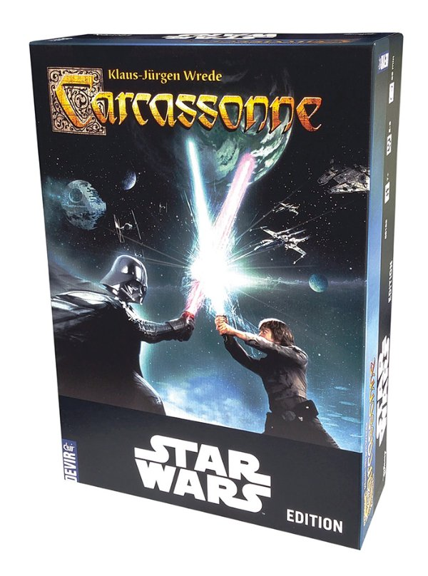 Jogo Carcassonne Star Wars