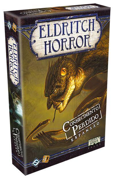 Jogo Conhecimento Perdido - Expansão, Eldritch Horror