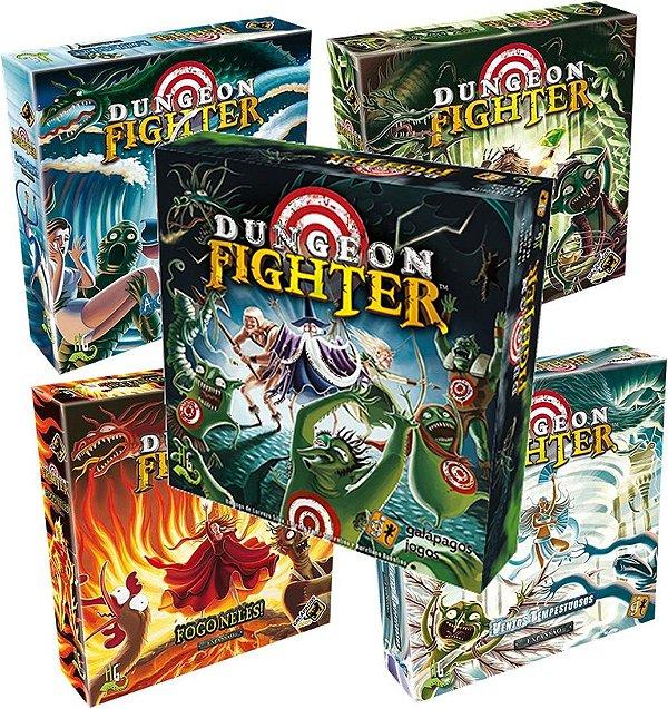 Jogo Dungeon Fighter Com As 4 Expansões