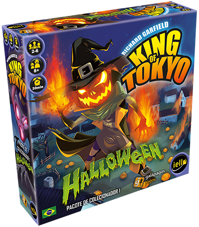 Jogo Halloween - Expansão, King of Tokyo