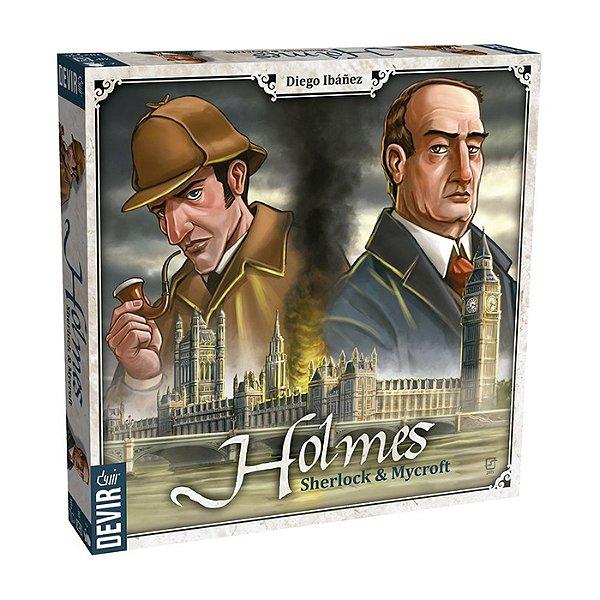 Jogo Holmes Sherlock & Mycroft