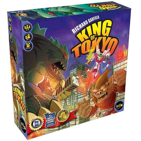 Jogo King of Tokyo