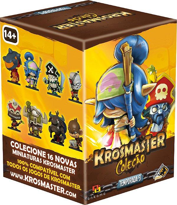 Jogo Krosmaster Arena Expansão Box Miniatura Surpresa Temporada 03