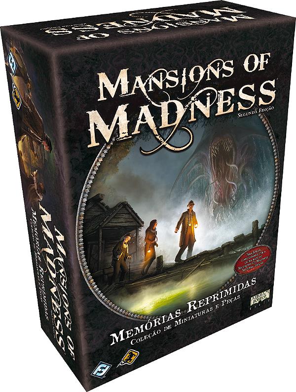 Jogo Mansions of Madness - Expansão Memórias Reprimidas