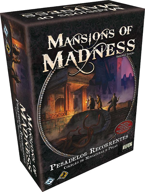 Jogo Mansions of Madness - Expansão Pesadelos Recorrentes