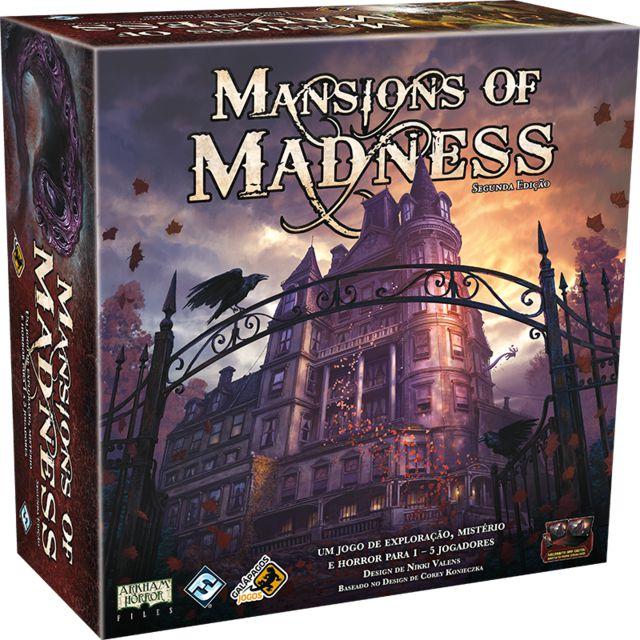 Jogo Mansions of Madness Segunda Edição