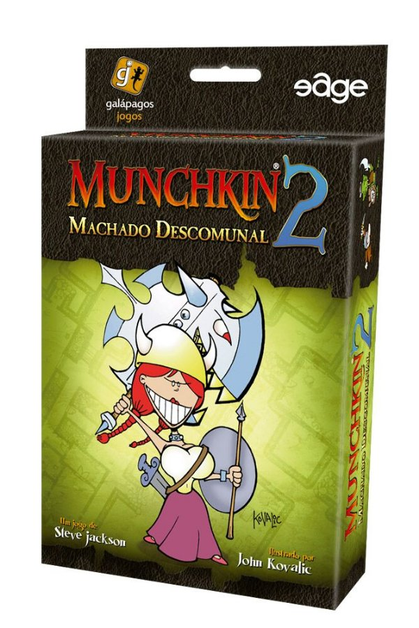 Jogo Munchkin 2 - Machado Descomunal - Expansão, Munchkin