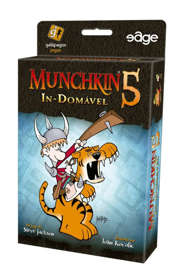 Jogo Munchkin 5 - In-Domável - Expansão, Munchkin