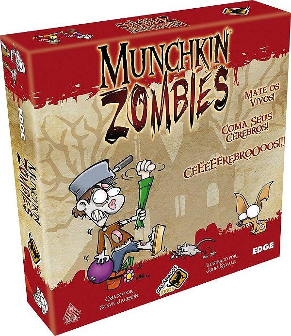 Jogo Munchkin Zombies