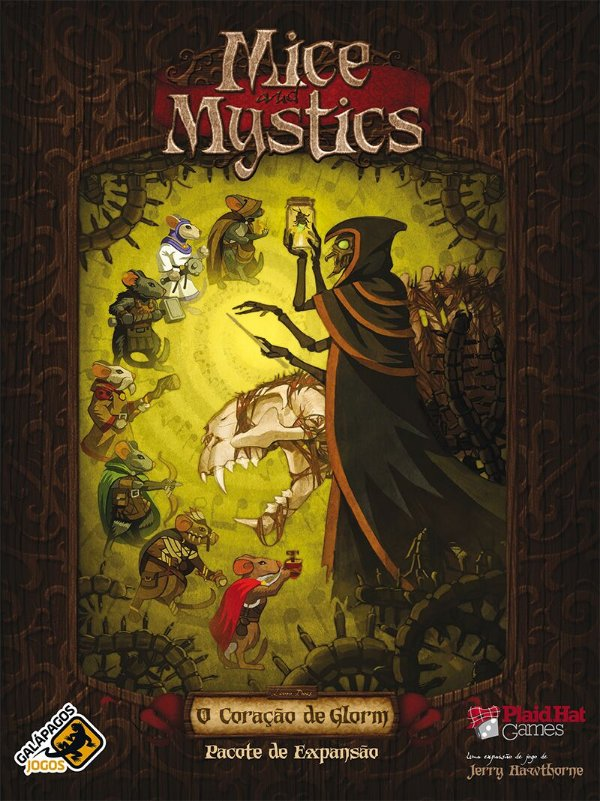 Jogo O Coração de Glorm: Expansão, Mice and Mystics