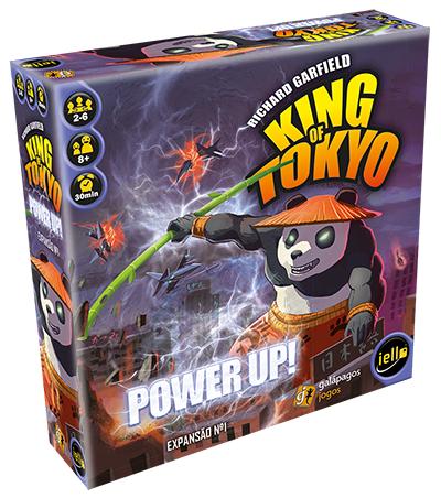 Jogo Power Up - Expansão, King of Tokyo