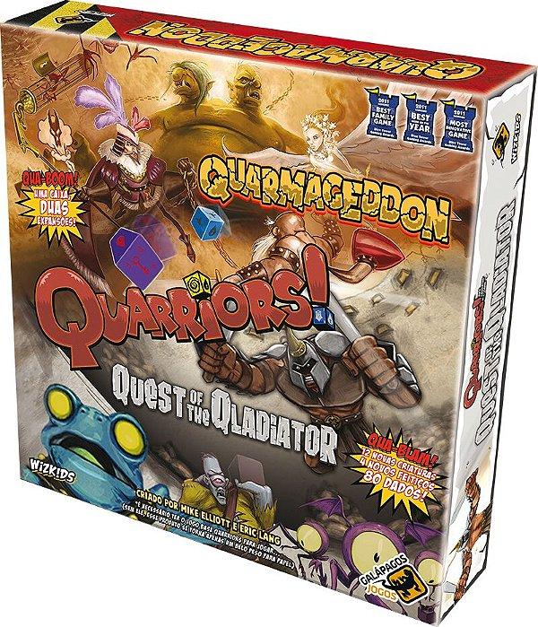 Jogo Quarmageddon/Quest of the Gladiator - Expansão, Quarriors