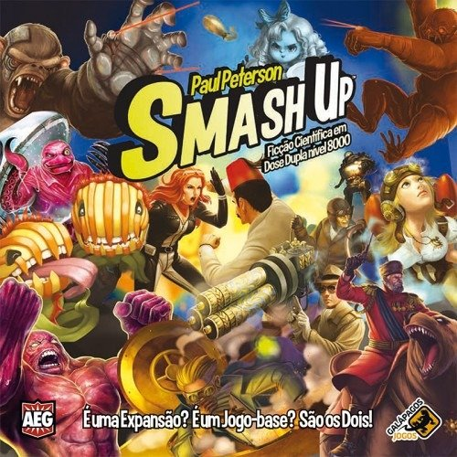 Jogo Smash Up: Ficção Científica Dose Dupla Nível 8000